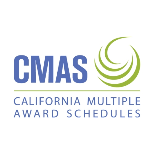 California Multiple Awards Schedule (CMAS #3-08-70-0660E)